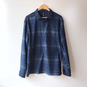 Lululemon • Men's Plaid Flannel Button Down Shirt
